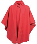 Charles River Apparel Style 9207 Cyclone EVA Poncho - Red