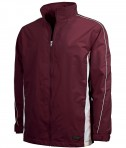 Charles River Apparel Style 9267 Pivot Jacket - Maroon/White