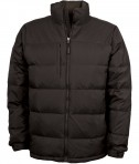 Charles River Apparel Style 9282 Men's Quilted Jacket - Espresso Brown