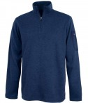 Charles River Apparel Style 9312 Men's Heathered Fleece Pullover - Navy Heather