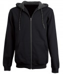 Charles River Apparel Style 9477 Vapore Water-Repellent Sweatshirt - Black/Graphite