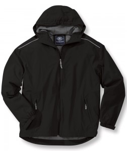 Charles River Apparel Style 9675 Nor'easter Rain Jacket - Black
