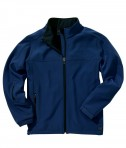 Charles River Apparel Style 9718 Men's Soft Shell Jacket - Midnight Blue/Black