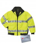 Charles River Apparel Style 9732 Signal Hi-Vis Jacket - Lime Green