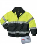 Charles River Apparel Style 9732 Signal Hi-Vis Jacket - Lime Green/Black