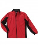 Charles River Apparel Style 9896 Synthesis Jacket - Red/Black