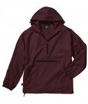 Charles River Apparel Style 9904 Pack-N-Go Pullover - Maroon