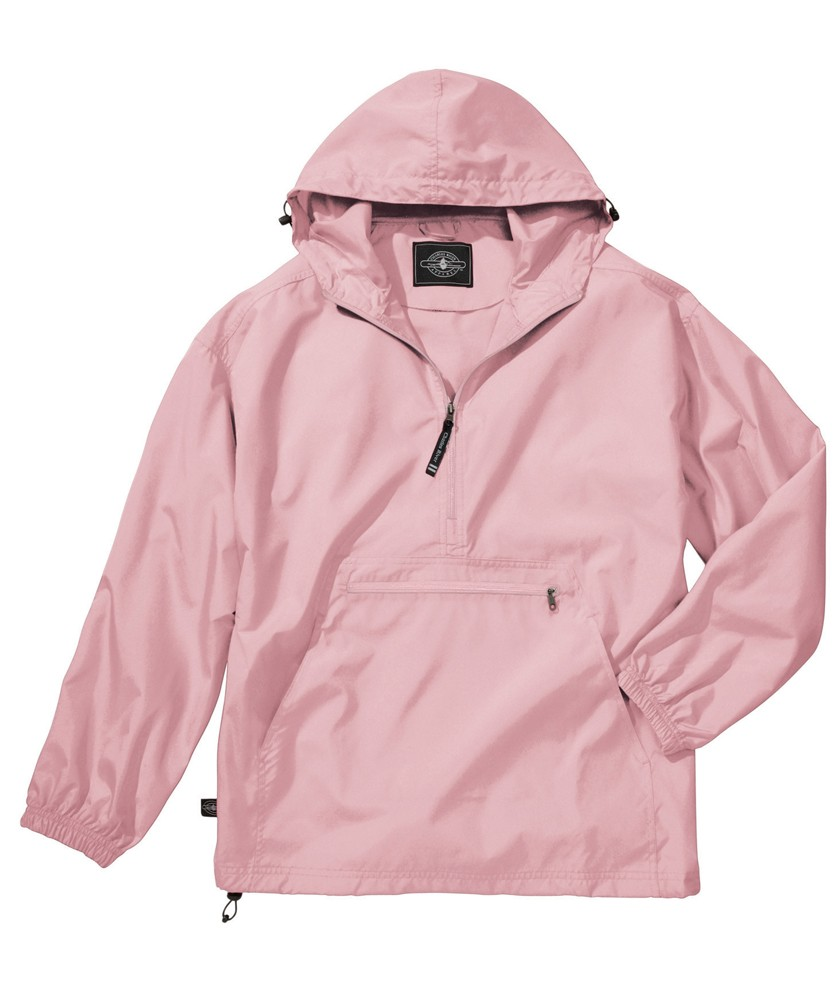Charles River Apparel Style 9904 Pack-N-Go Windbreaker Pullover ...