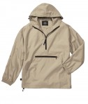 Charles River Apparel Style 9904 Pack-N-Go Pullover - Stone