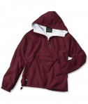 Charles River Apparel Style 9905 Classic Solid Pullover - Maroon
