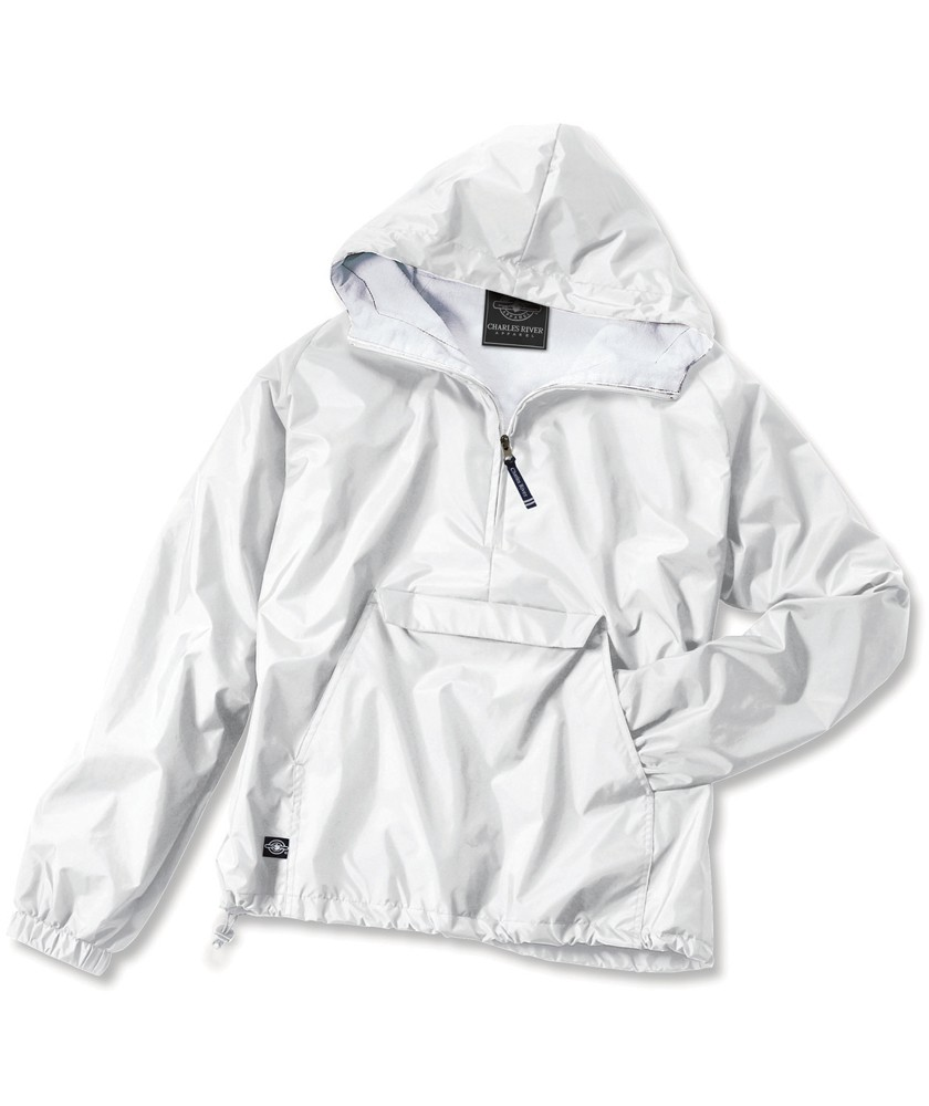 Charles River Apparel Style 9905 Classic Solid Windbreaker ...