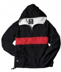 Charles River Apparel Style 9908 Classic Charles River Striped Pullover - Black/Red