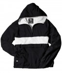 Charles River Apparel Style 9908 Classic Charles River Striped Pullover - Black/White