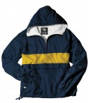 Charles River Apparel Style 9908 Classic Charles River Striped Pullover - Navy/Gold
