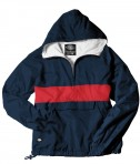 Charles River Apparel Style 9908 Classic Charles River Striped Pullover - Navy/Red