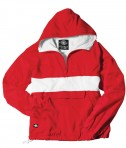 Charles River Apparel Style 9908 Classic Charles River Striped Pullover - Red/White