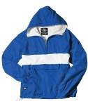 Charles River Apparel Style 9908 Classic Charles River Striped Pullover - Royal/White