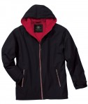 Charles River Apparel Style 9922 Enterprise Jacket - Black/Red