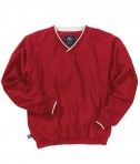 Charles River Apparel Style 9944 Men's Legend Windshirt - Red/White