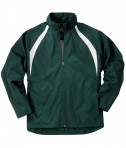 Charles River Apparel Style 9954 Men's TeamPro Jacket - Forest/White