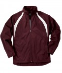 Charles River Apparel Style 9954 Men's TeamPro Jacket - Maroon/White