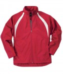 Charles River Apparel Style 9954 Men's TeamPro Jacket - Red/White