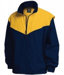 Charles River Apparel Style 9971 Championship Jacket - Navy/Gold
