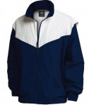 Charles River Apparel Style 9971 Championship Jacket - Navy/White