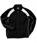 Charles River Apparel Style 9984 Men's Olympian Jacket - Black/White