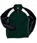 Charles River Apparel Style 9984 Men's Olympian Jacket - Forest/White/Black