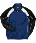 Charles River Apparel Style 9984 Men's Olympian Jacket - Royal/White/Black