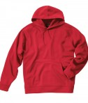 Charles River Apparel 9987 Bonded Polyknit Sweatshirt - Red
