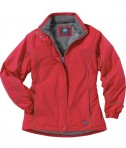 Charles River Apparel 5864 Women's Alpine Parka Red