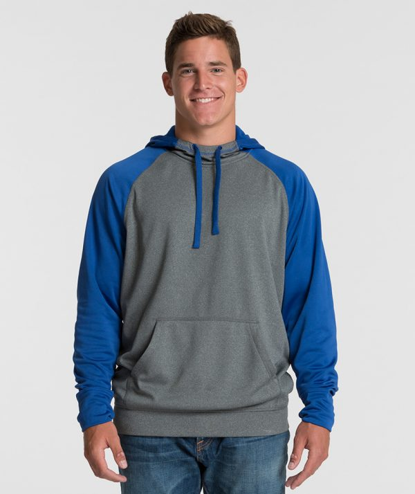 Charles River Apparel 9690 Field Long Sleeve Sweatshirt Royal Heather
