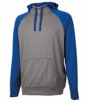 Charles River Apparel 9690 Field Long Sleeve Sweatshirt Royal Heather Full View