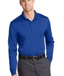 CornerStone Select Snag-Proof Long Sleeve Polo Royal Front