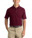 CornerStone - Industrial Pique Polo Style CS402 Burgundy