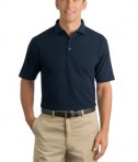 CornerStone - Industrial Pique Polo Style CS402 Navy