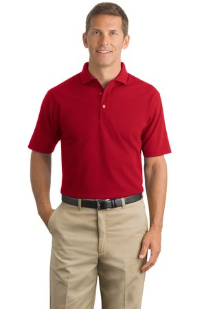 CornerStone - Industrial Pique Polo Style CS402 Red