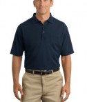 CornerStone - Industrial Pocket Pique Polo Style CS402P Navy