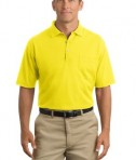 CornerStone - Industrial Pocket Pique Polo Style CS402P Safety Yellow