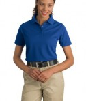 CornerStone - Ladies Industrial Pique Polo Style CS403 Royal