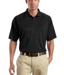 CornerStone - Select Snag-Proof Tactical Polo Style CS410 Black