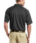 CornerStone - Select Snag-Proof Tactical Polo Style CS410 Charcoal Back