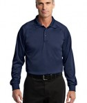 CornerStone - Select Long Sleeve Snag-Proof Tactical Polo Style CS410LS Dark Navy