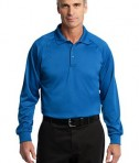CornerStone - Select Long Sleeve Snag-Proof Tactical Polo Style CS410LS Royal