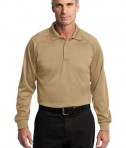 CornerStone - Select Long Sleeve Snag-Proof Tactical Polo Style CS410LS Tan