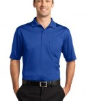 CornerStone - Select Snag-Proof Pocket Polo Style CS412P Royal