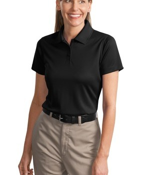 CornerStone – Ladies Select Snag-Proof Polo Style CS413 Black