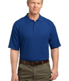 CornerStone - EZCotton Tactical Polo Style CS414 Royal